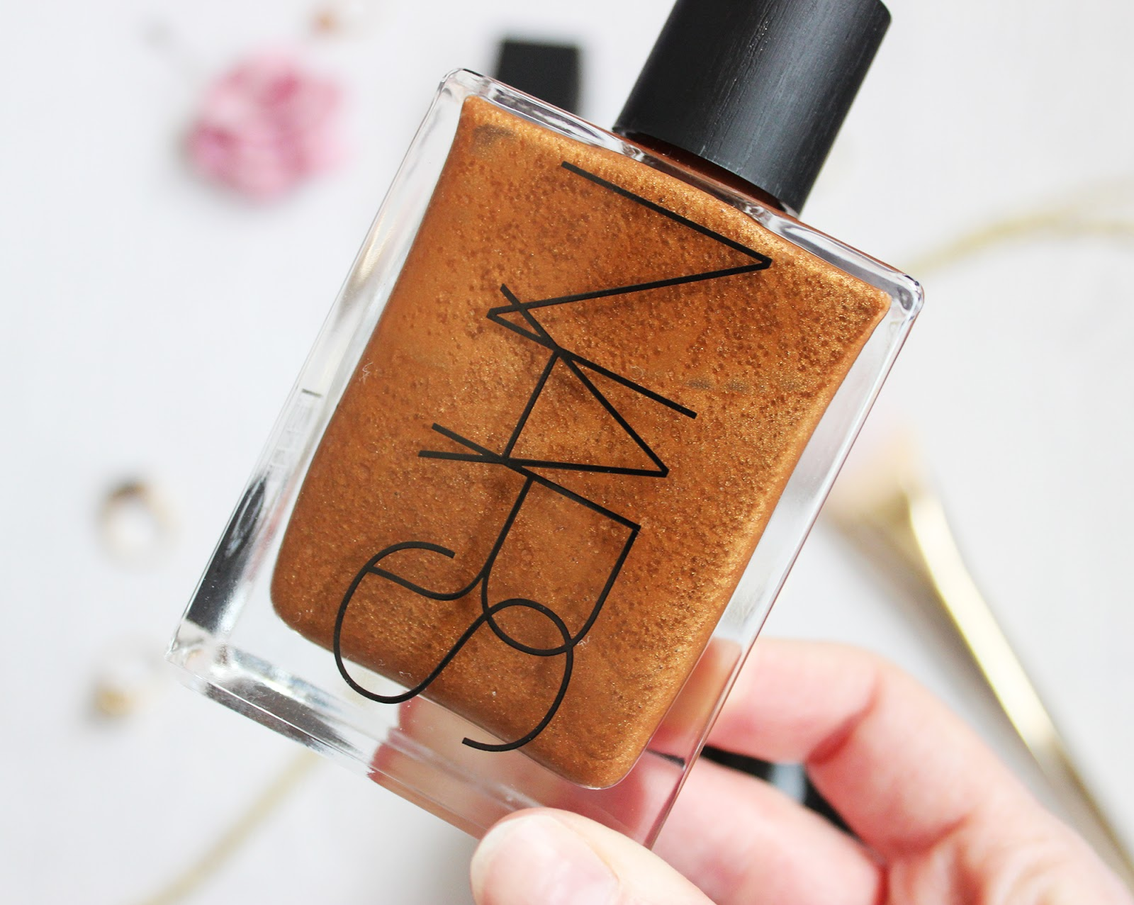 NARS tahiti summer bronzing collection review Monoi body glow