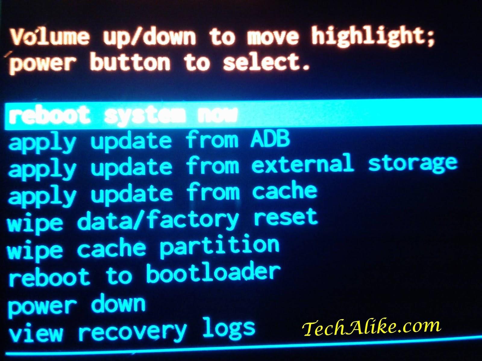 Samsung Galaxy S4 Recovery Mode Flash Sock Rom