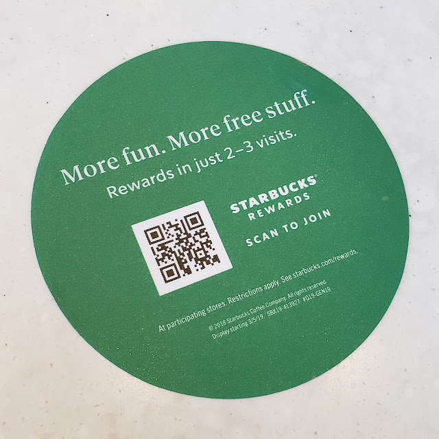 Starbucks QR Code Join Starbucks Rewards More fun.  More free stuff.