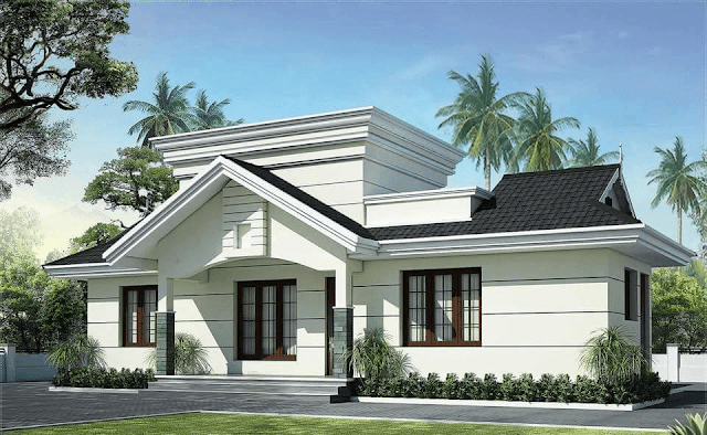House Front Elevation Single Story 3D Design Photo Picture & Wallpapers