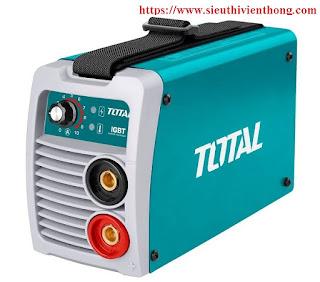 Máy hàn biến tần TOTAL TW21306 sản xuất trên dây chuyền hiện đại của Đức