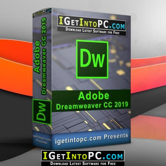 Adobe Dreamweaver CC 2019 19 1 0 11240 Free Download