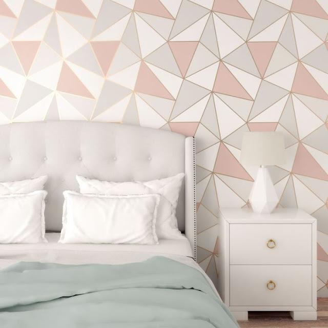 Motif Wallpaper Dinding Kamar Tidur Remaja Terbaru