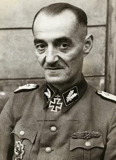 Oskar Direlewanger SS Officer Dirlewanger Brigade Warsaw uprising worldwartwo.filminspector.com