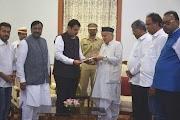 महाराष्ट्र गुजरात सरकार के गठन के विकल्प का पता लगाने के लिए फड़नवीस को लिखता है; शिवसेना ने किया फैसला