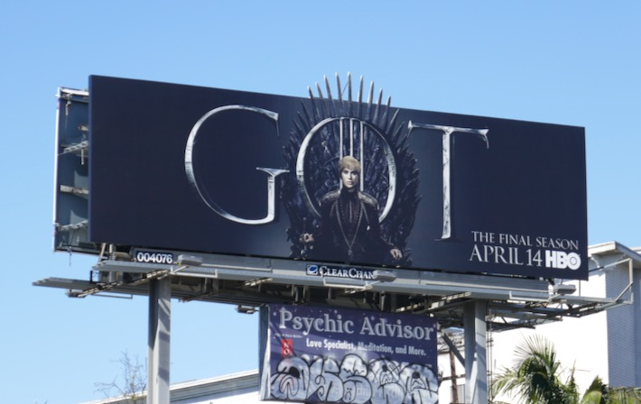 Game of Thrones final season 8 billboard