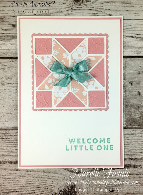 Let me show you how to easily create eight projects with the one stamp set and its matching thinlits or punch with my Stamping By Mail classes - http://www.simplystampingwithnarelle.com/p/stamping-by-mail.html - The classroom comes to you - Simply Stamping with Narelle