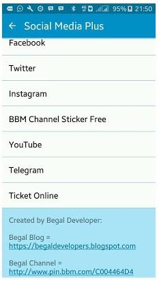 BBM + SOSMED 8 IN 1 V3.0.1.25 Apk - Dapat Membuka 8 Sosial Media Sekaligus