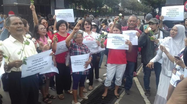 Walau tak Berizin, Polisi Izinkan Ahokers Gelar Aksi di Mako Brimob
