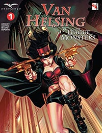 Read Van Helsing vs The League of Monsters online