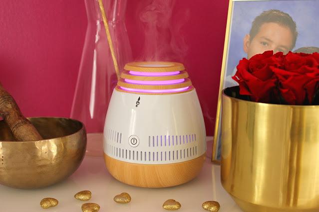bigben - Aromasound, diffuseur huiles essentielles les petites bulles de ma vie
