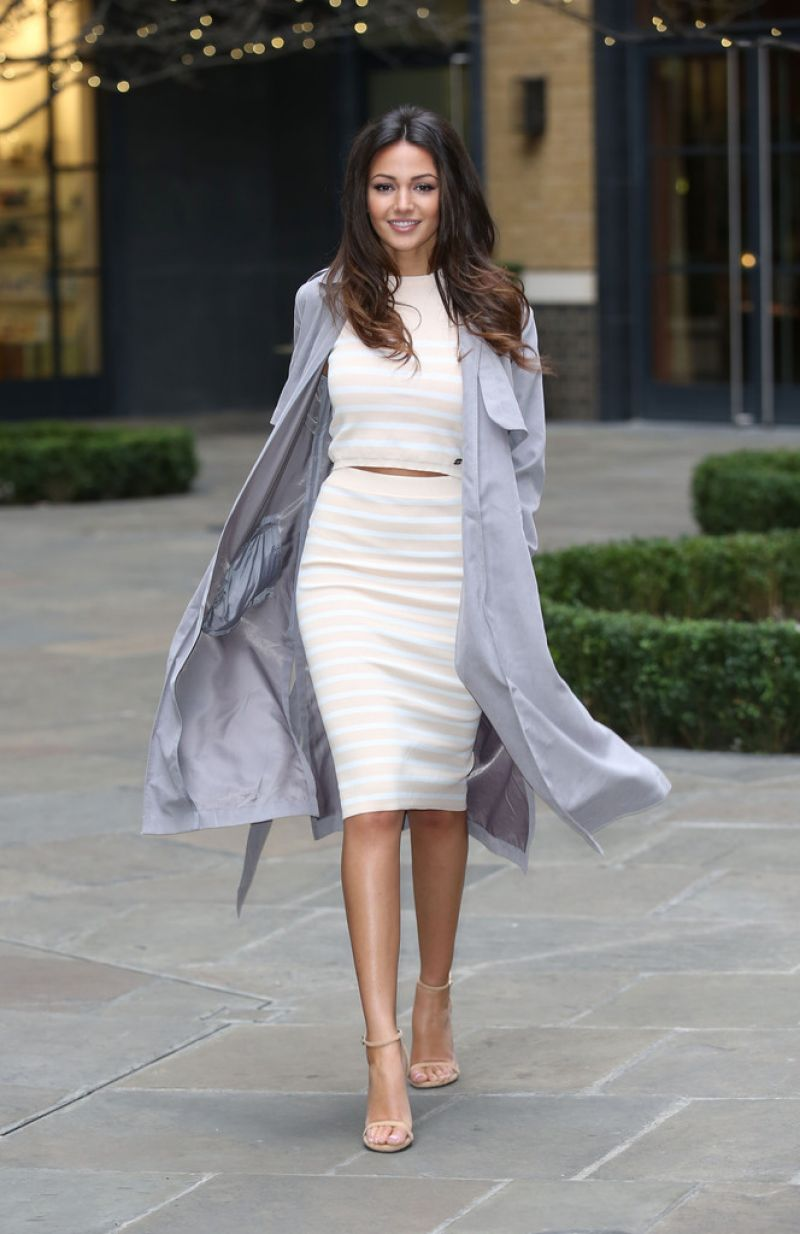 Michelle Keegan At Lipsy Love Summer Collection Preview In London - HD Photos