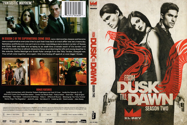 From Dusk Till Dawn Season 2 DVD Cover