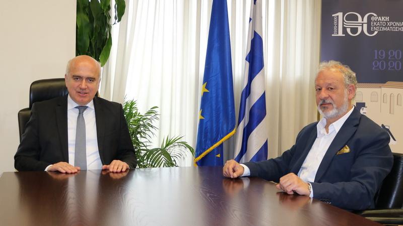 Νέος Αντιπεριφερειάρχης στην Περιφέρεια Ανατολικής Μακεδονίας - Θράκης