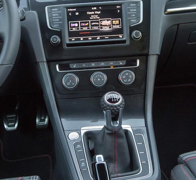 Transmissão manual do Golf GTI 2019
