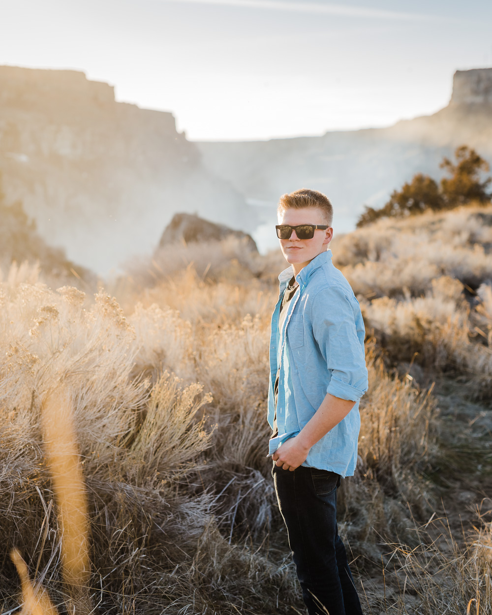 Seth: Southern Idaho High School Senior Photographer