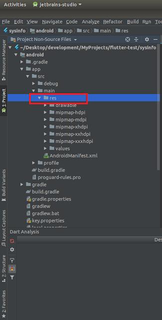 Android Studio - RES Folder