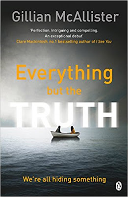 Writer Wednesday interview with Gillian McAllister, author of Everything but the Truth