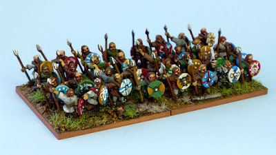 Joint 2nd place: Early Saxons, by barbarian - wins £20 Pendraken credit!