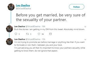 BBNaija Leo Da Silva Speaks On Sexuality
