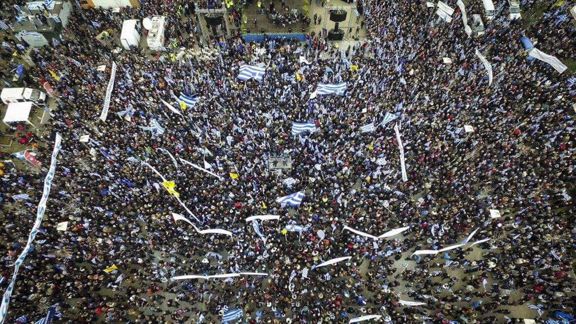 Macedonia is Greece! History and Truth are not Negotiable! Hundreds of Thousands Protest in Thessaloniki Against The Use of Name 'Macedonia' by FYROM (Photos & Videos)