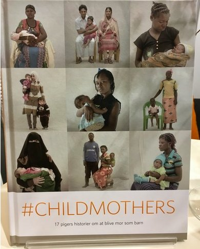 Crown Princess Mary of Denmark attended presentation of the book #Childmothers of UNFPA at Book Fair