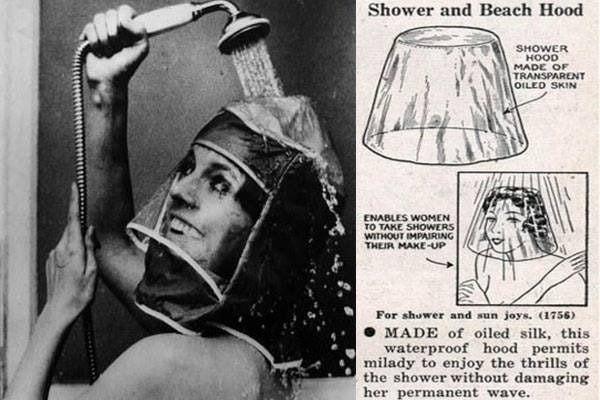 Shower helmet