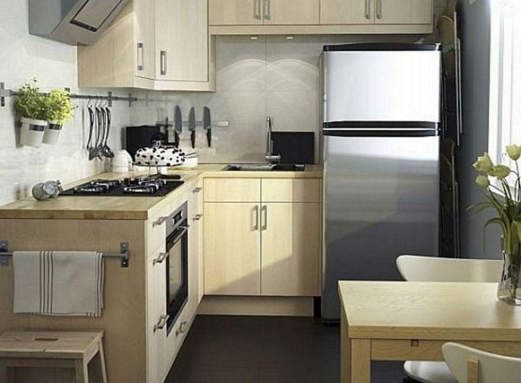 Penataan Desain Interior Dapur Dan Meja Makan Mungil Populer