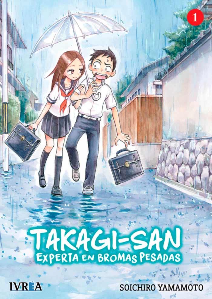 Takagi-san: Experta en bromas pesadas (Karakai Jouzu no Takagi-san) #1 - Soichirp Yamamoto - Ivrea