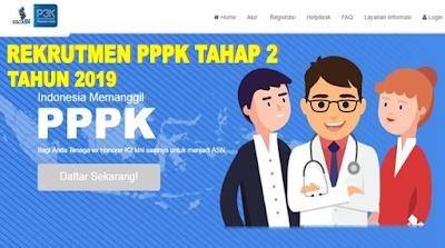 Rekrutmen PPPK Tahap Dua tahun 2019