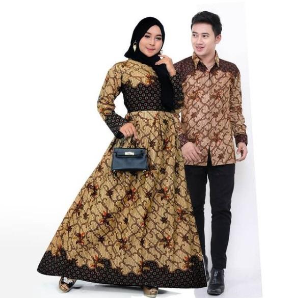Gamis Batik Pasangan