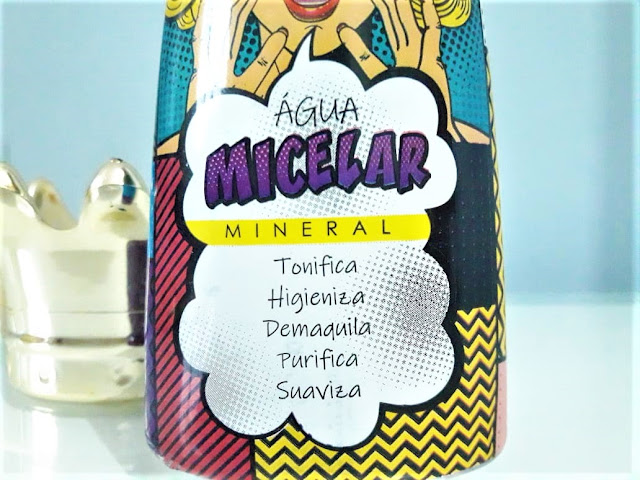 AGUA MICELAR MINERAL QUEEN QUEEN COSMETICOS