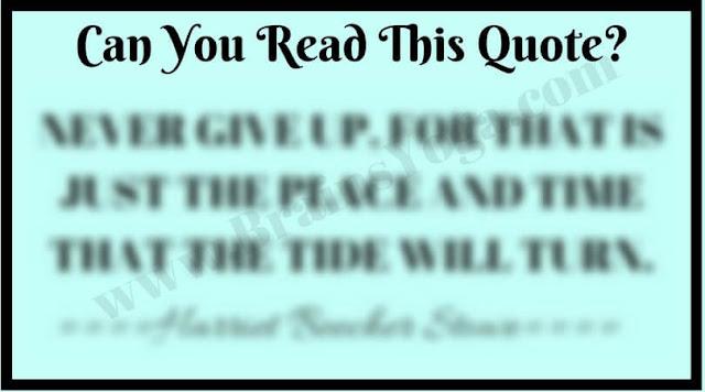 Blur Reading Challenge Riddle