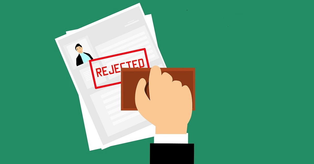Rejected From Job Interviews