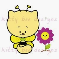 Image result for kitty bee designs