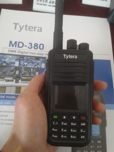 TYT MD-380 DMR: Download: Tytera TYT MD380 Codeplug