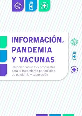 Recomendaciones y Propuestas para el Tratamiento Periodístico de Pandemia y Vacunación