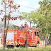 Cegah Covid-19, PBK BP Batam Bersama Tim Gabungan Semprotkan Desinfektan di Ruas Jalan Raya