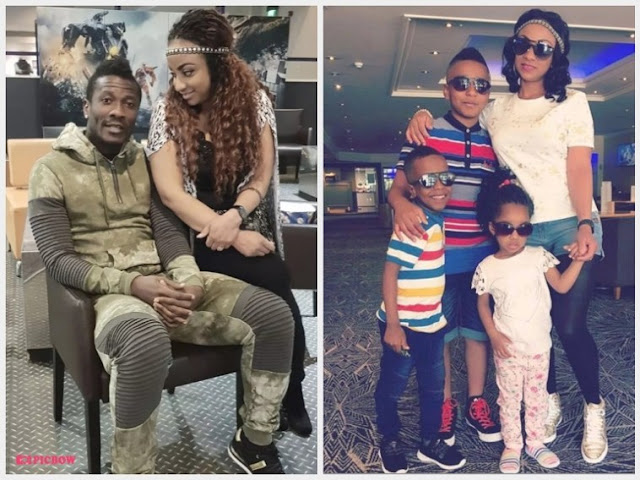 Asamoah Gyan files for divorce; demands DNA test to determine his kids' father