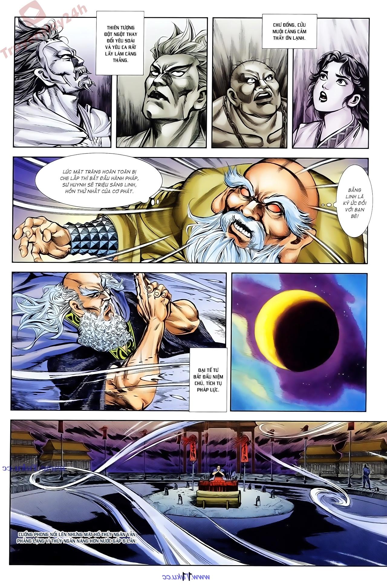 Cơ Phát Khai Chu Bản chapter 79 trang 13