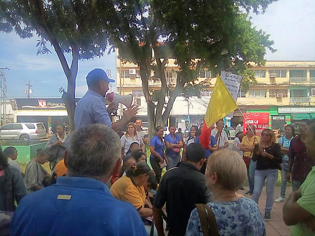 APURE: Educadores de San Fernando y Elorza protestaron en inicio del año escolar.  VIDEO.
