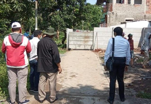 Ketua DPRD Kota Tangerang Kecewa, Kuburan Neneknya Dipagar Sumarecon