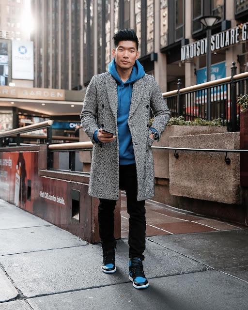 Winter Style Roundup for Men - Sandro Topcoat Leo Chan