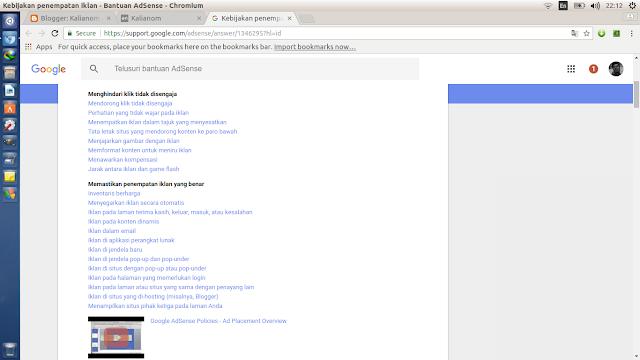 Jumlah Batas Maksimal Iklan Google Adsense Dalam Satu Halaman