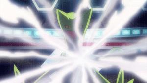 Capitulo 33 Temporada 19: ¡Mega-Sceptile contra Raichu! ¡A recibir puntos de experiencia!