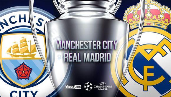 Real Madrid vs. Machester City EN VIVO: cómo y dónde ver HOY por Champions League en el Etihad Stadium