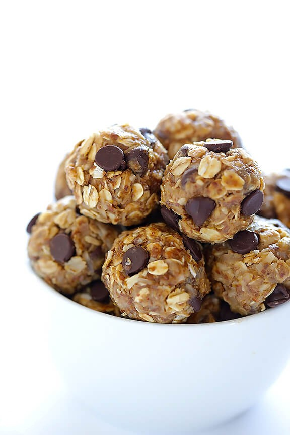 No Bake Energy Bites - These delicious little no bake energy bites are the perfect healthy snack!