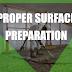 Proper Surface Preparation