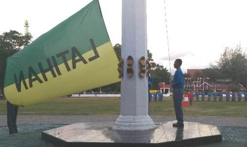 Panitia Upacara HUT RI Ke 73 Tk. Kabupaten Kepulauan Selayar, Mantapkan Persiapan