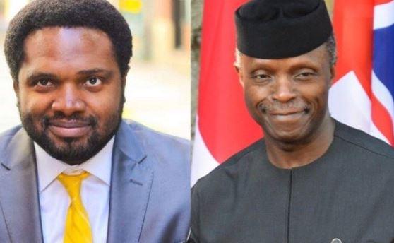 Cobhams tells Nigerians to pray for Osinbajo